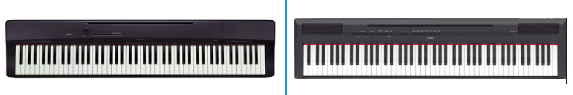 Casio PX160 Vs Yamaha P115 – Detailed Comparison
