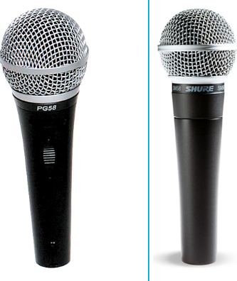 Shure PG58 Vs SM58 – Detailed Comparison