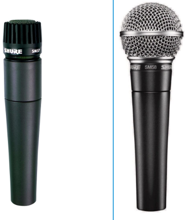 Shure SM57 Vs SM58 – Detailed Comparison