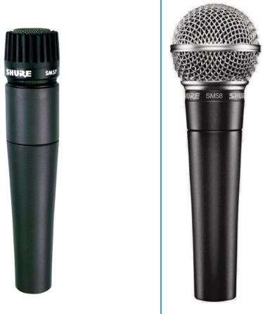 Shure SM57 Vs SM58 – Detailed Comparison